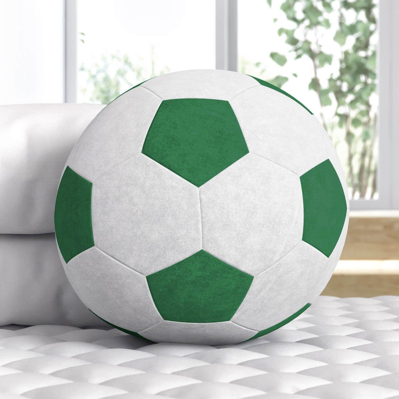 Bola de Futebol Verde 24cm  d4c121584df56
