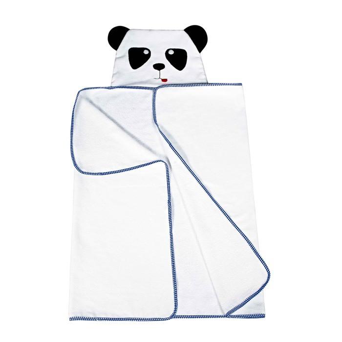 Toalha com Capuz Urso Panda