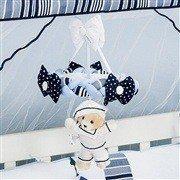 Móbile Urso Marinheiro Azul
