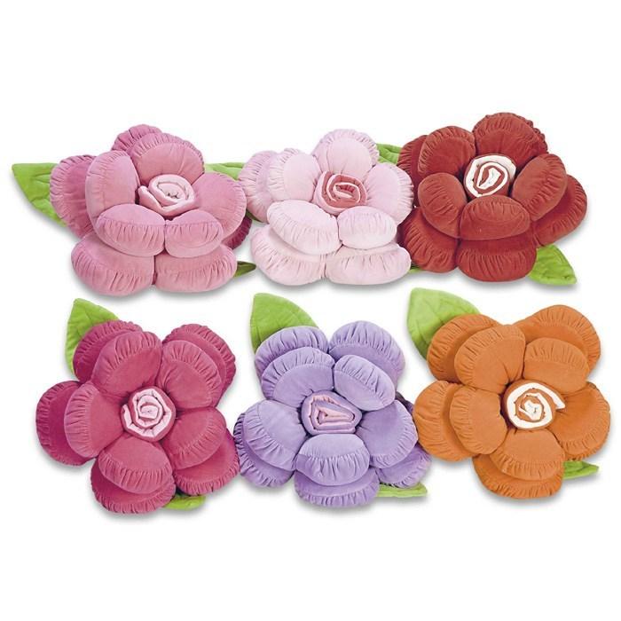 Almofada Flor Rosa