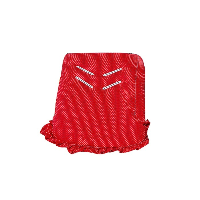 Capa de Bebê Conforto Vermelho