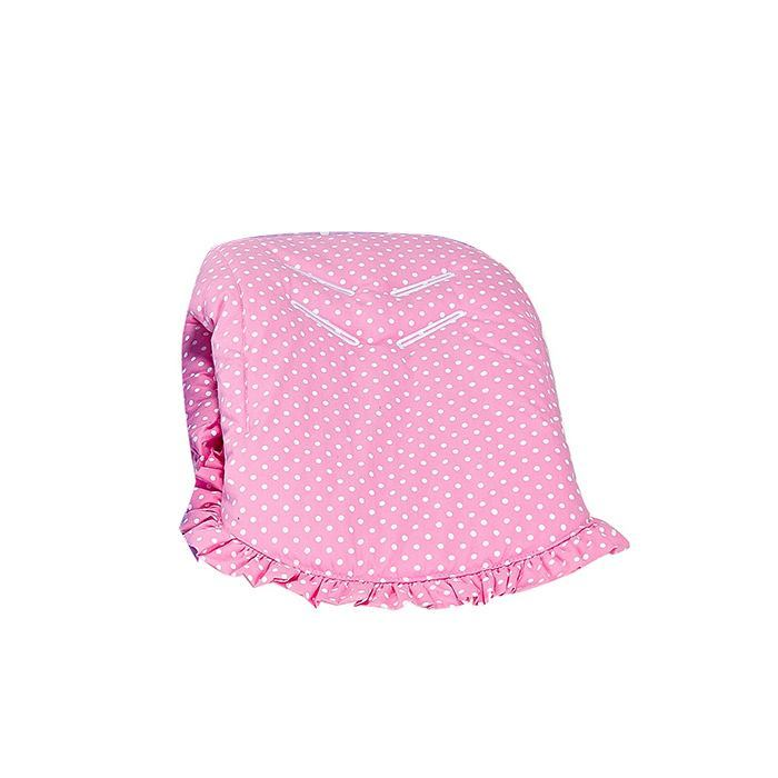 Capa de Bebê Conforto Rosa