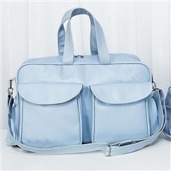 Bolsa Requinte Azul M