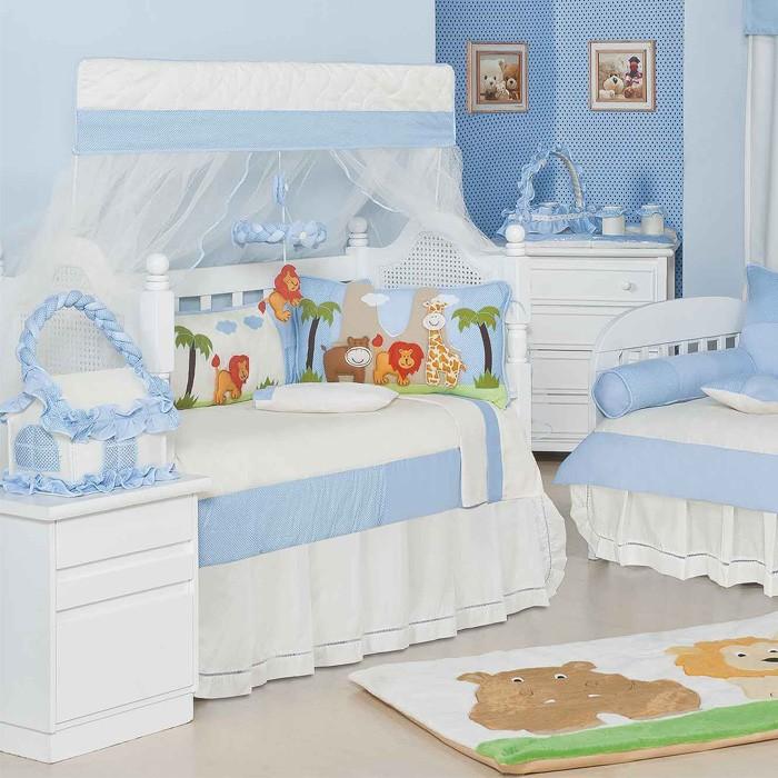 Quarto para Bebê sem Cama Babá Selva Baby