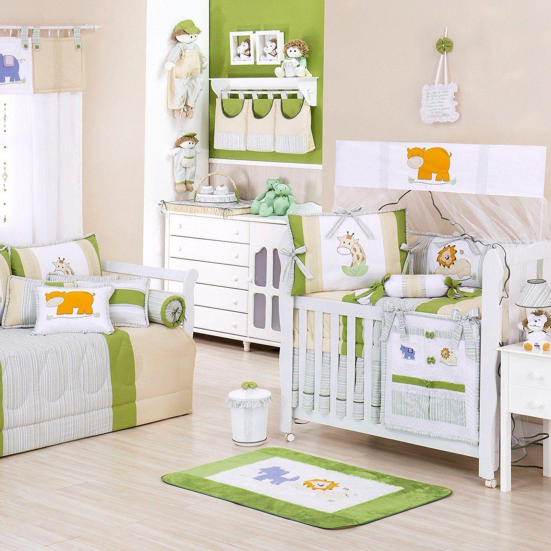 Quarto para Bebê Selva Verde