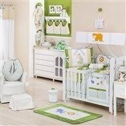 Quarto para Bebê sem Cama Babá Selva Verde