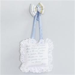 Enfeite Oração Santo Anjo Aventura Azul