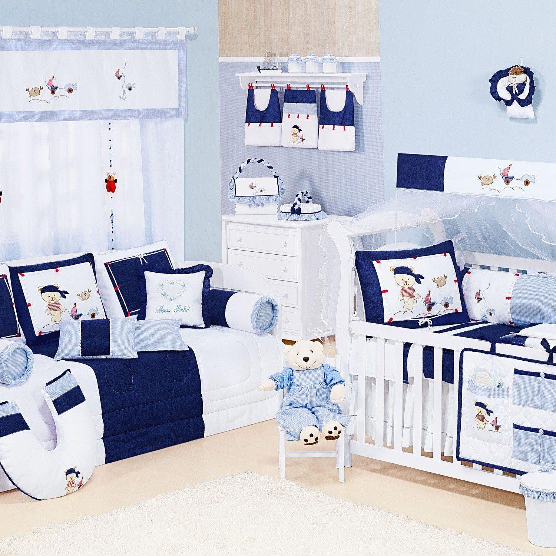 Quarto para Bebê Navy Marinho