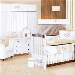 Quarto para Bebê sem Cama Babá Imperialle Palha