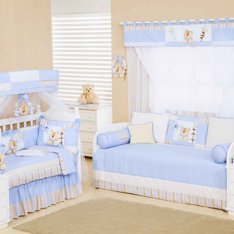Quarto para Bebê Ursinhos Azul