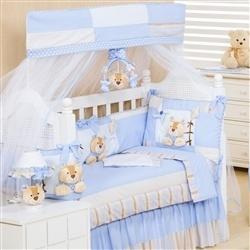 Kit Berço Ursinhos Azul