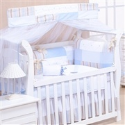 Kit Berço Baby Chique Azul