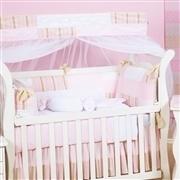 Kit Berço Baby Chique Rosa