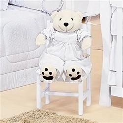 Porta Fraldas Urso Algodão Doce