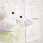 Porta Fraldas Urso Tiquitos