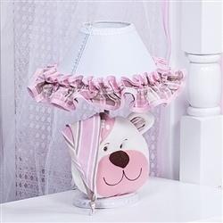 Abajur Urso Soninho Rosa