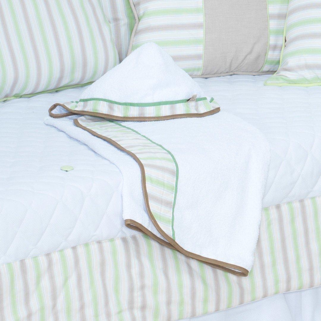 Toalha com Capuz Lipe Verde