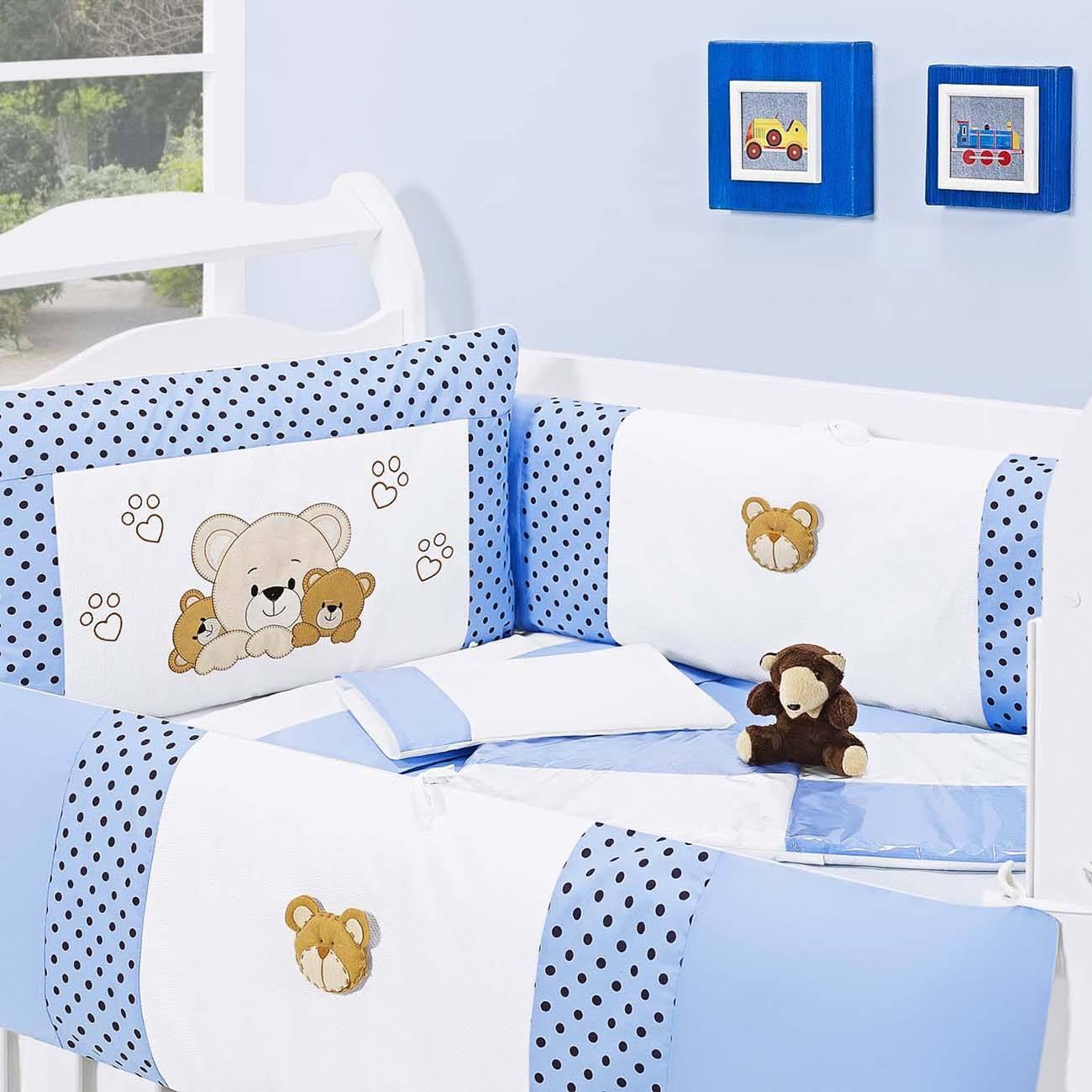 Kit Berço Família Urso