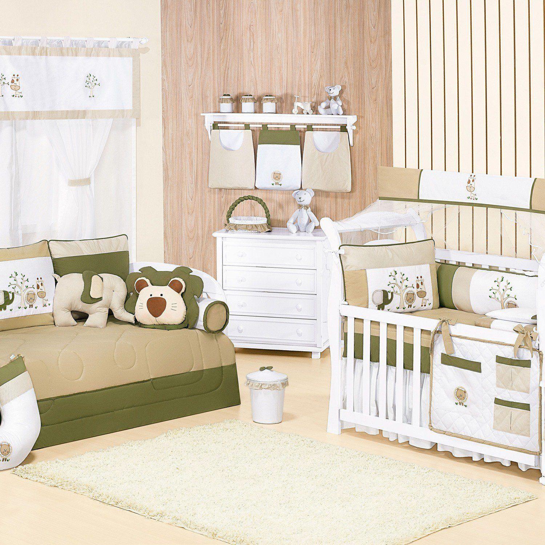 Quarto para Bebê sem Cama Babá Amiguinhos da Selva