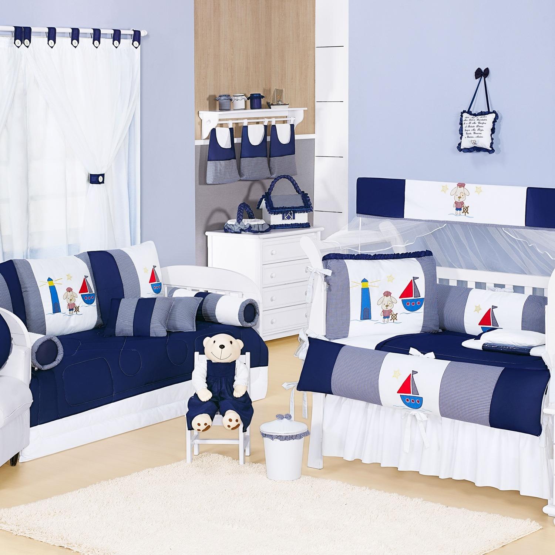 Tapete Para Quarto De Bebe Azul Marinho Redival Com ~ Quarto Bebe Masculino Azul Marinho