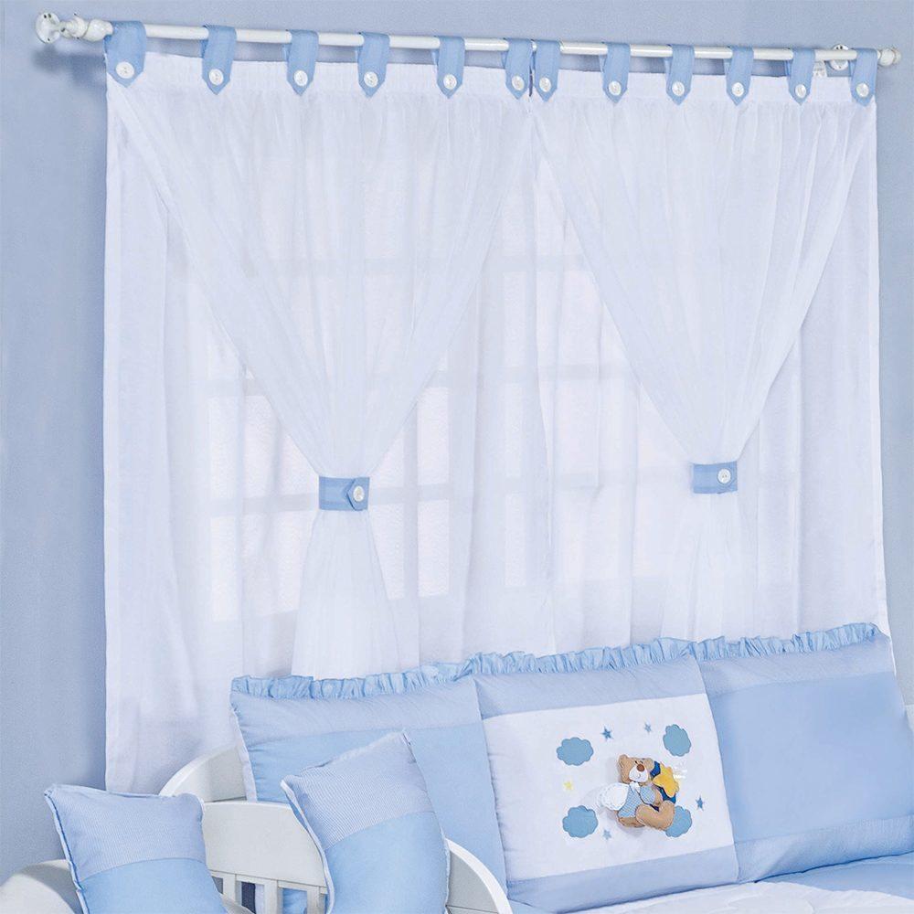 Cortina Anjinho Azul