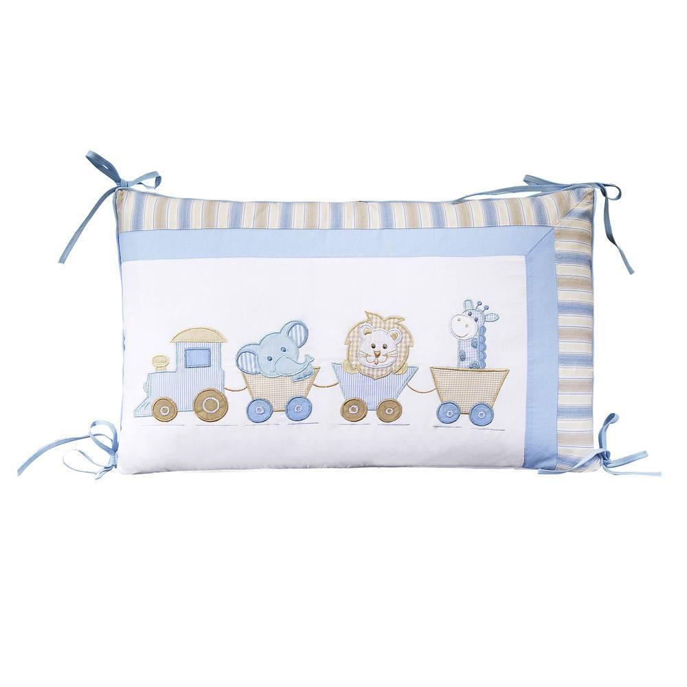 Kit Berço Natureza Bebê Azul