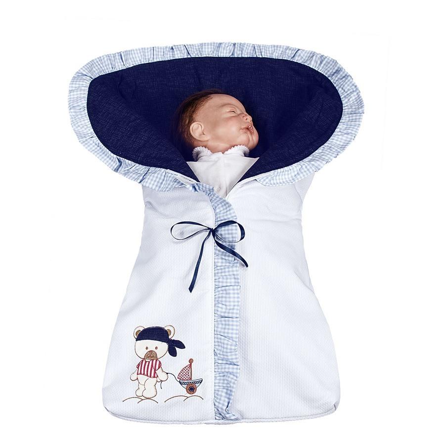 Porta Bebê Navy Marinho