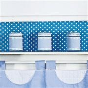 Kit Acessórios Luxo Azul