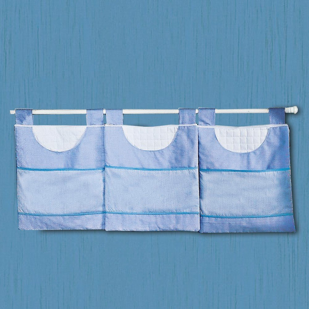 Porta Fraldas Varão Luxo Azul
