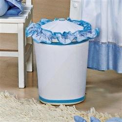 Lixeira Luxo Azul