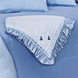 Manta Luxo Azul