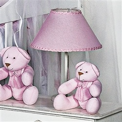 Abajur Luxo Rosa
