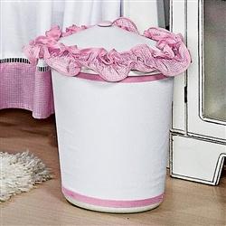 Lixeira Luxo Rosa