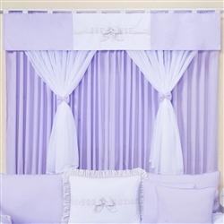 Cortina Provence Lilás