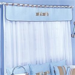 Cortina Baby Azul