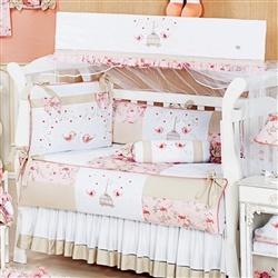 Kit Berço Primavera Rosa