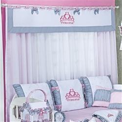 Cortina Princesa Rosa