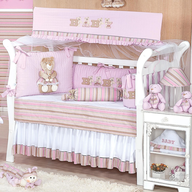 Kit Berço Baby Rosa
