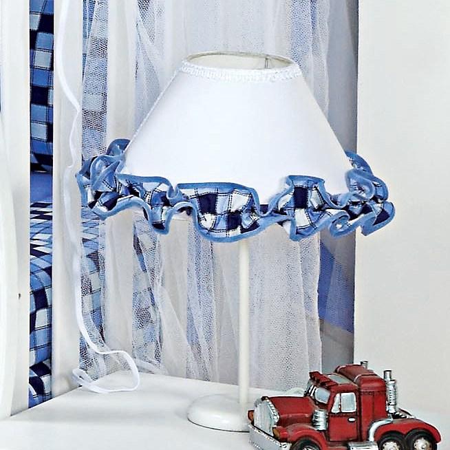 Abajur Transporte Azul