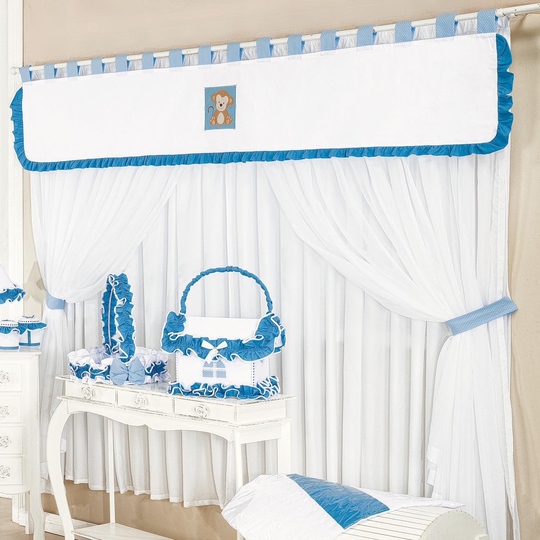 Cortina Safari Azul