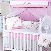 Quarto para Bebê Sem Cama Babá Butterfly Rosê