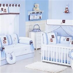 Quarto para Bebê Gorduxo Azul