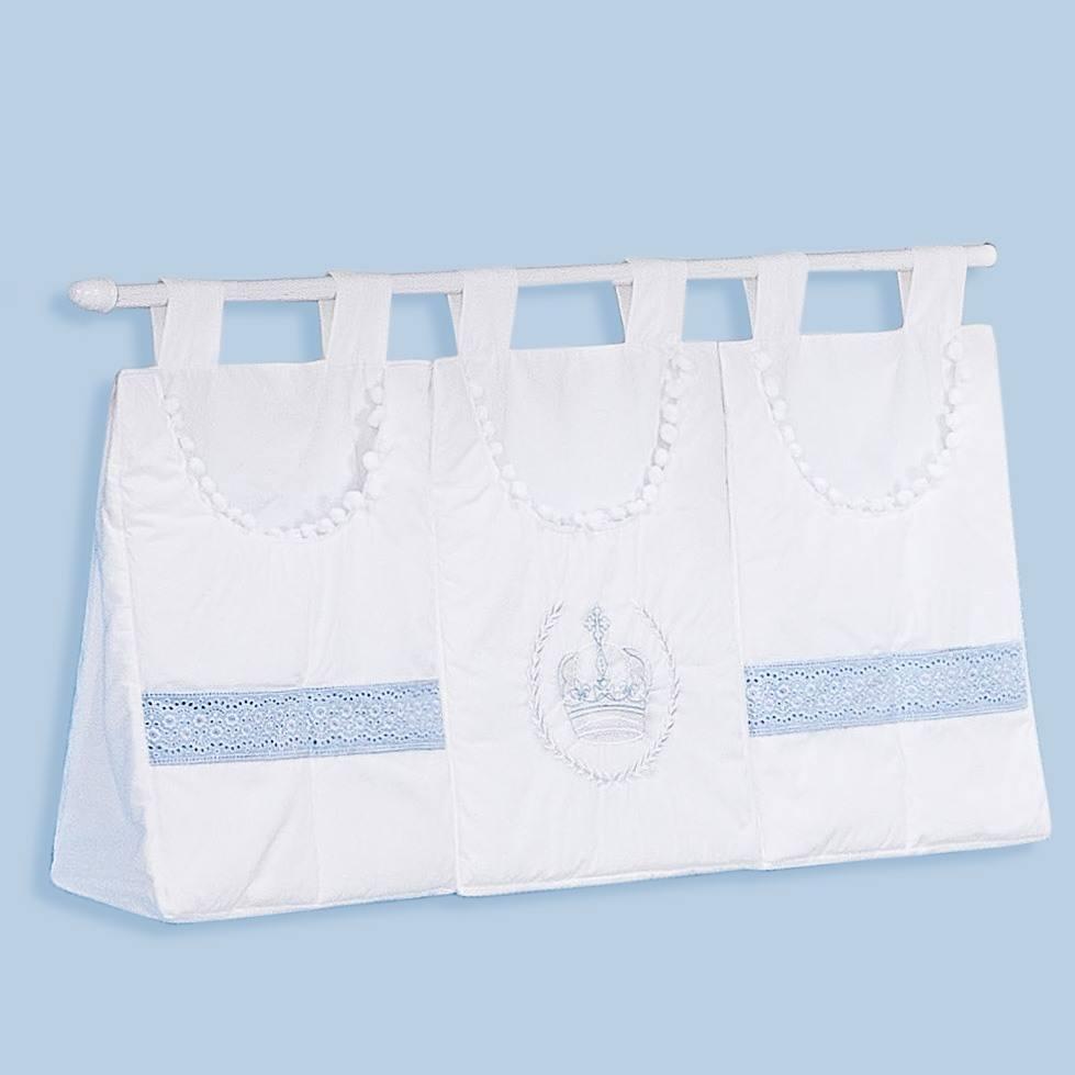 Porta Fraldas Varão Imperial Azul