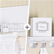 Kit Acessórios Belle Branco
