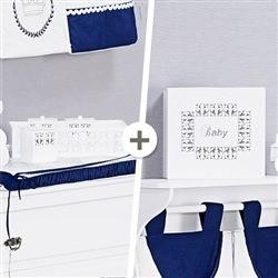 Kit Acessórios Monarchy Branco