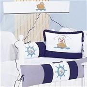 Quarto para Bebê Sem Cama Babá Navy Marinho