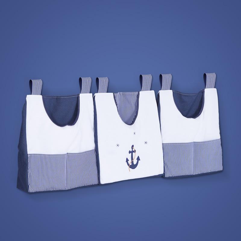 Porta Fraldas Varão Marinheiro Azul