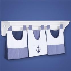 Prateleira Completa Marinheiro Azul