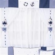 Cortina Marinheiro Azul