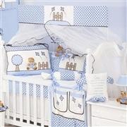 Quarto para Bebê sem Cama Babá Cerquinha Azul